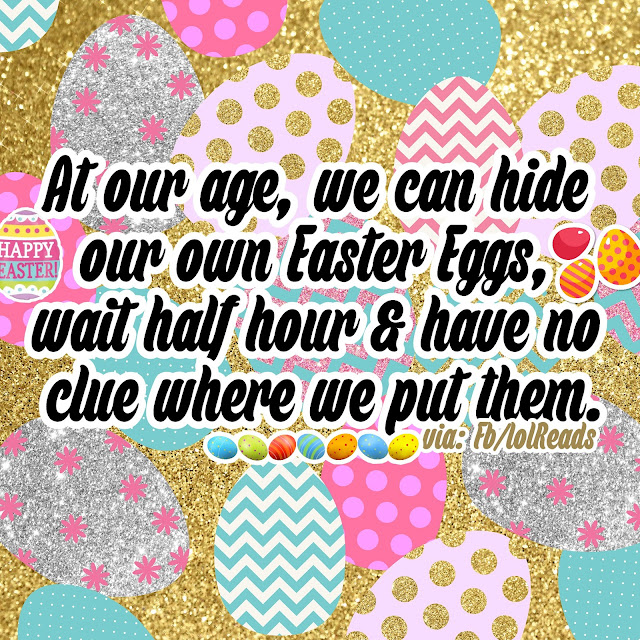 Put Easter Eggs in a safe place and forget where the Safe Place is