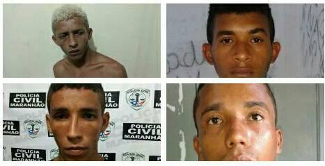 Preso quarteto acusado de roubo seguido de estupro em Presidente Vargas