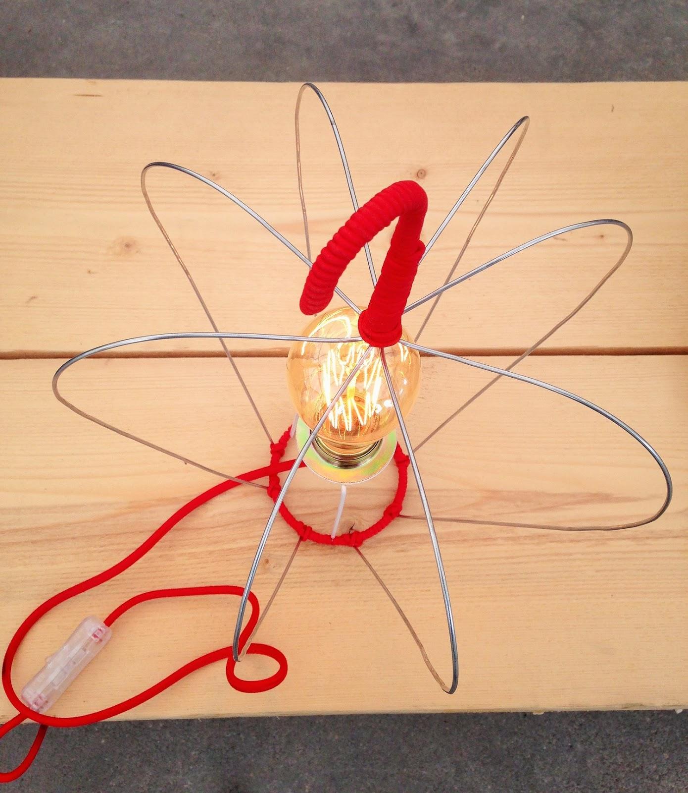 Fabuleux PcMcréation: Lampe POM & coussins lin POM / Faire de sa vie EN62