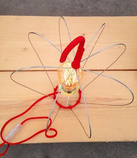 lampe à poser ampoule Edison