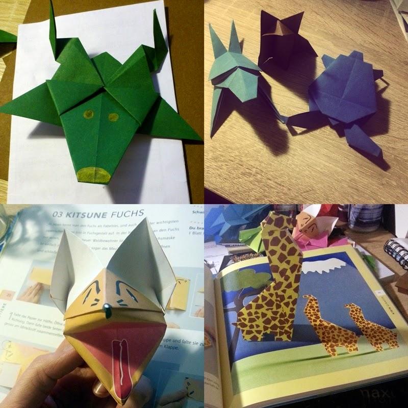 Stadtbibliothek Rostock Origami Die Kunst Aus Papier Figuren Zu