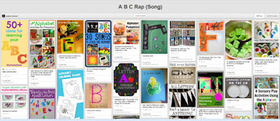 ABC Rap (song) pinterest board