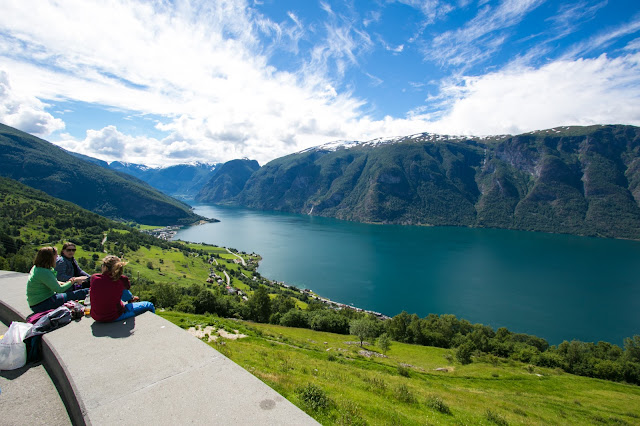 Segastein-Punto panoramico sul fiordo