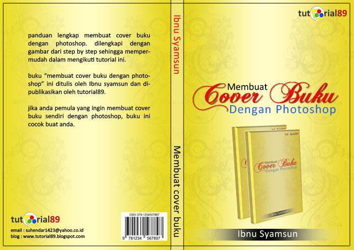 Cara membuat cover buku dengan photoshop