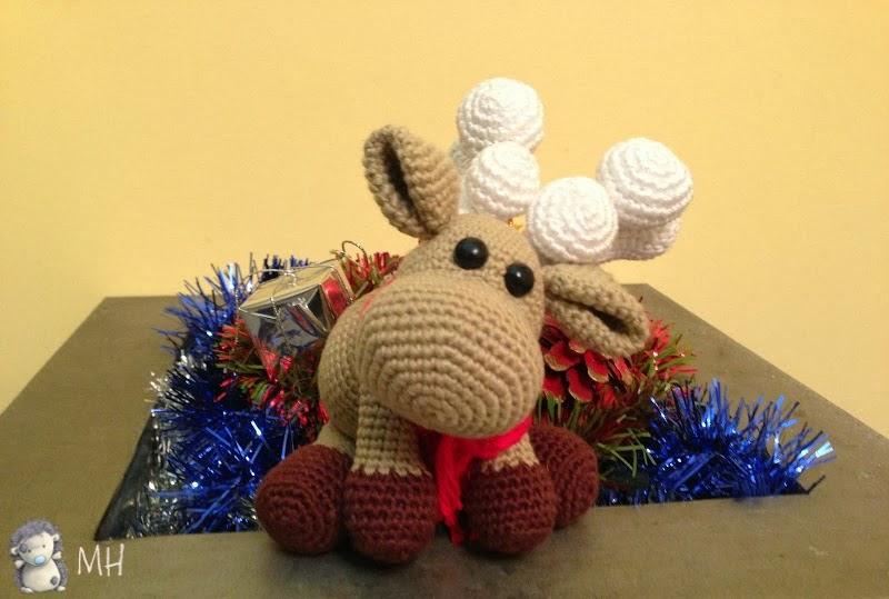 Navidad Amigurumi: 30 Patrones para tejer amigurumis navideños ... | 539x800