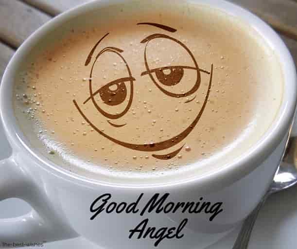 good morning angel coffee