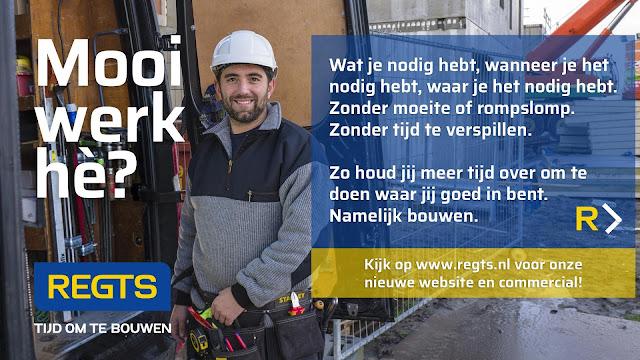 Regts - Tijd om te bouwen! Vestigingen: Sneek, Joure, Franeker, Heerenveen, Leeuwarden.