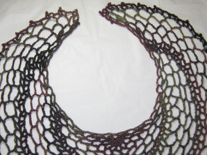 shawl, crochet, Patriot Day, rants