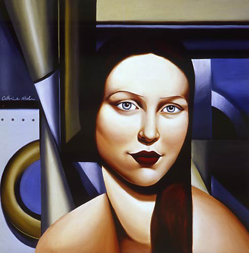 Catherine Abel | Australian Figurative painter | Art Déco