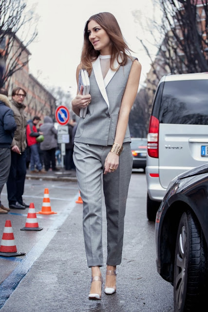 Street Style: Giorgia Tordini Italy in Giambattista Valli - Cool Chic Style Fashion