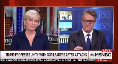 Morning Joe's Sermon