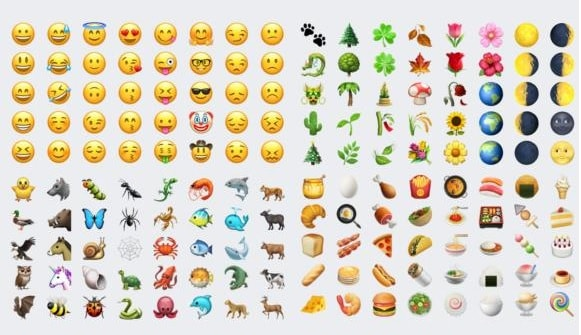 iOS 10.2 all emojis