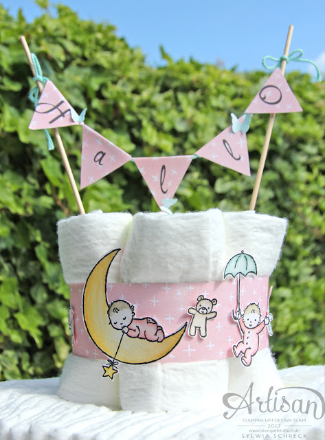 Moon Baby-Stampin Up!