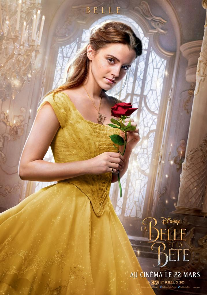 Beauty and the beast movie poster emma