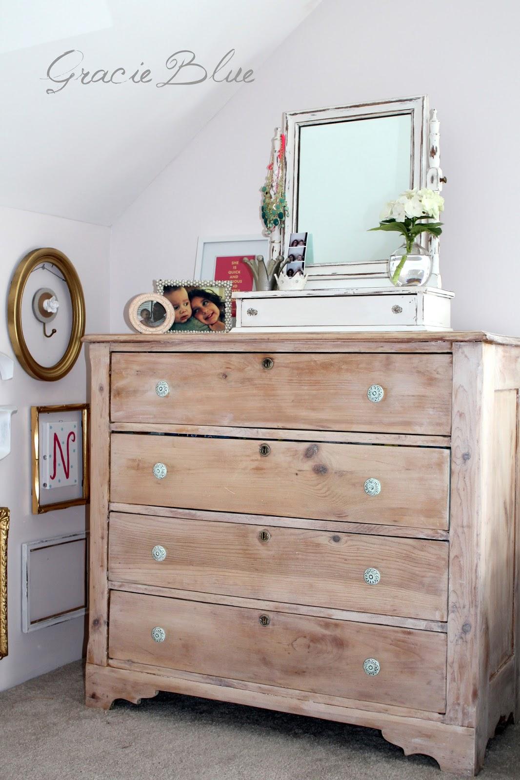 Gracie Blue Antique Pine Dresser The Reveal