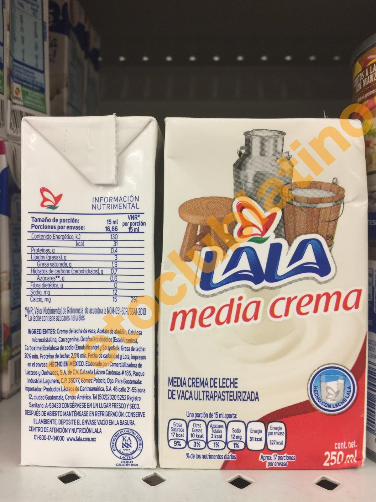 crema de leche en dieta cetosisgenica