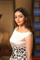 Actress Pooja Salvi Stills in White Dress at SIIMA Short Film Awards 2017 .COM 0122.JPG