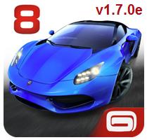 Asphalt 8: Airborne v1.7.0e (Mod Money) APK