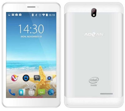 Harga Tablet Advan X7 Tahun 2016 Lengkap Dengan Spesifikasi Android Processor Intel Atom Harga Rp. 1 Juta-an
