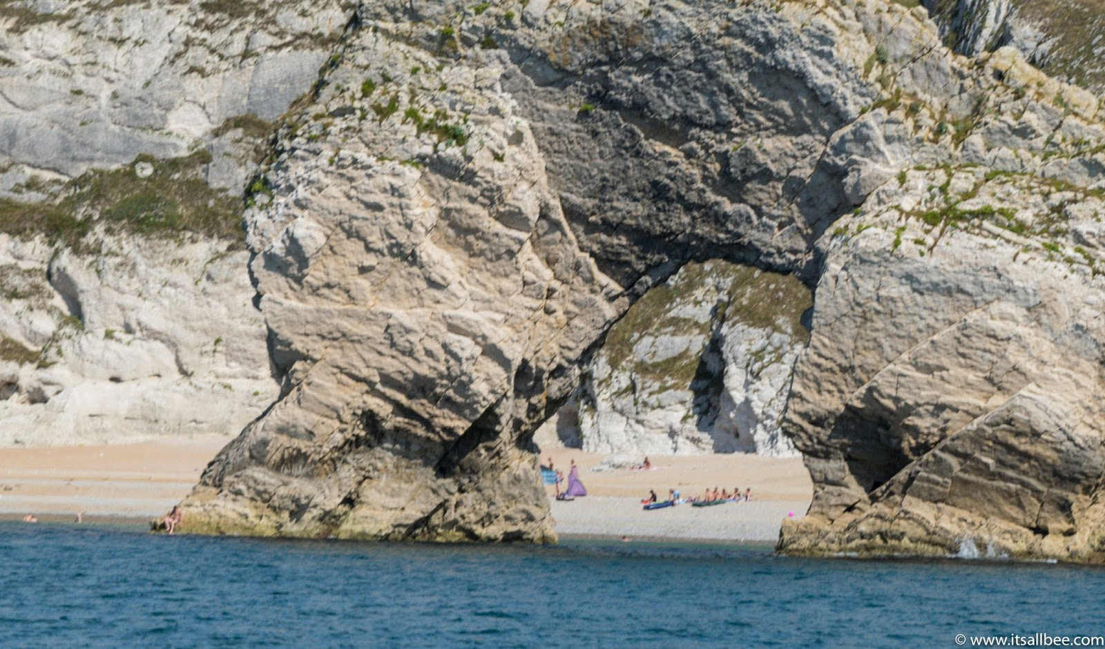 lulworth cove to durdle door by boat