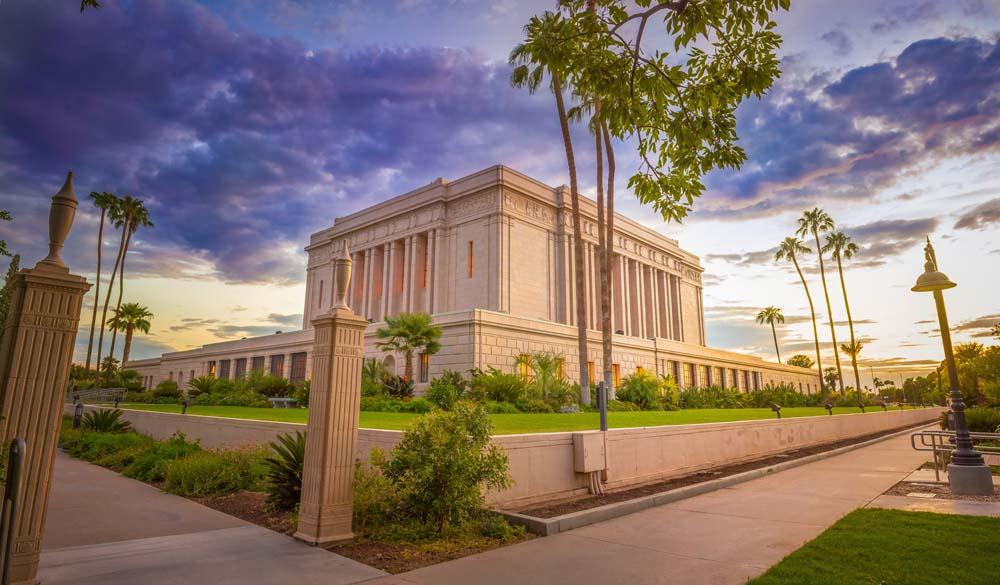 Historic LDS Architecture Mesa Temple Interior