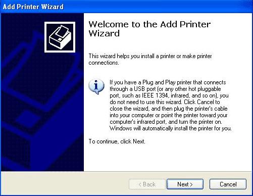 cara menghubungkan printer ke komputer