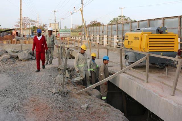 Cerca de 130 mil pessoas são diretamente beneficiadas com as obras de recuperação da Barragem do Bacanga