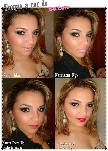 Maquiagem para o Ano novo