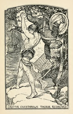 Grettir by Henry Justice Ford from The Book Of Romance