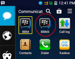 Install 2 bbm di hp android