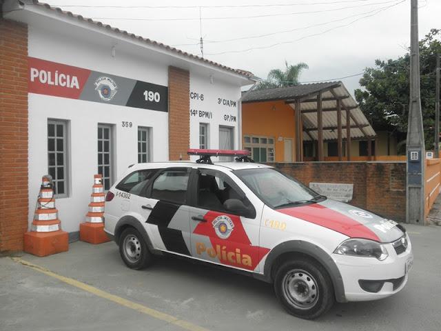 POLÍCIA MILITAR DE ILHA COMPRIDA PRENDE EM FLAGRANTE HOMEM QUE AGREDIU ESPOSA