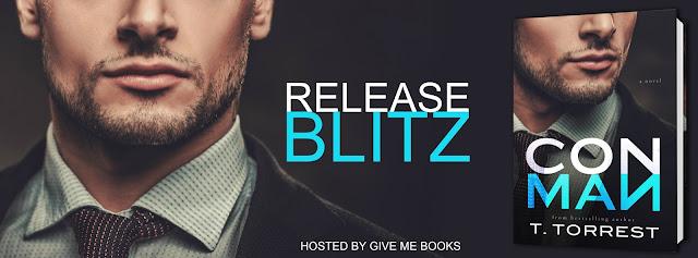 Release Blitz - Excerpt & Giveaway - Con Man by T. Torrest