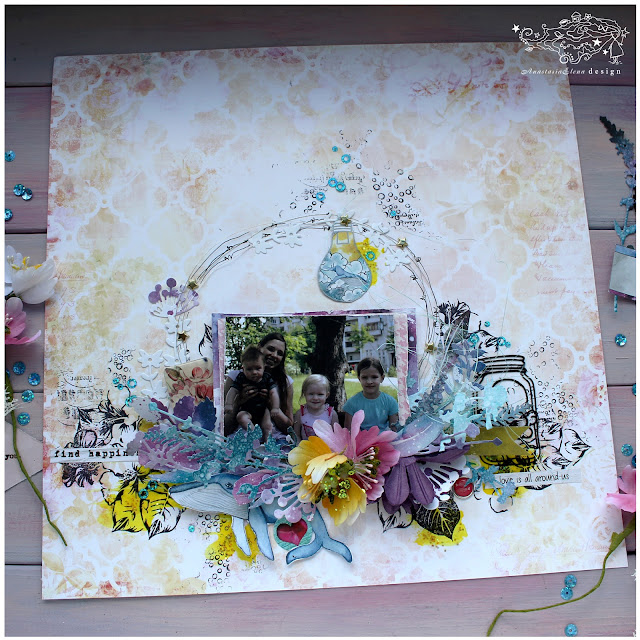 @nastyalena #layout #scrapbooking