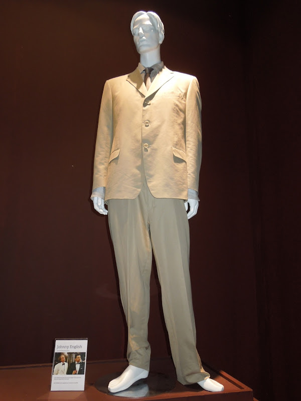 John Malkovich Johnny English movie costume