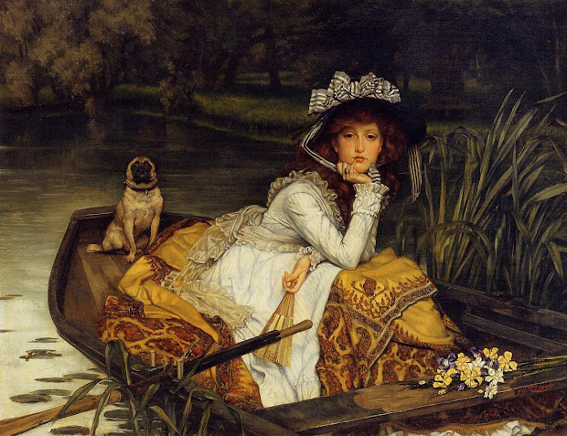 Victorian British Painting Tissot Ctd