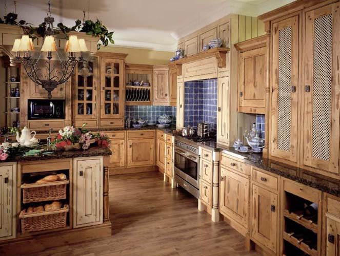 Home Design: Country Kitchen Design Ideas