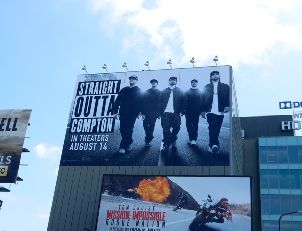 Straight Outta Compton billboard