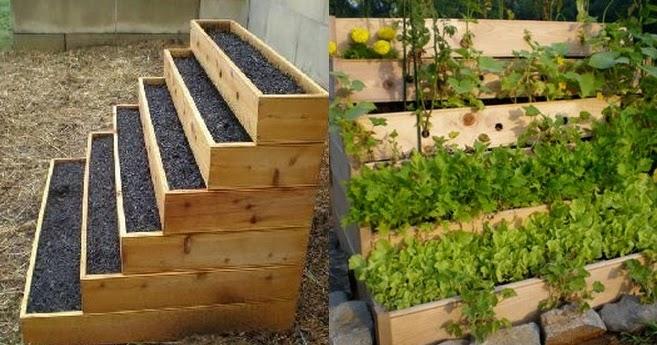 Vertical Vegetable and Herbs Garden 101 Gardening