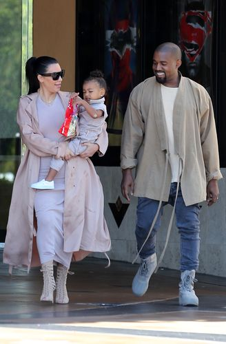 North West Kanye isn't her dad