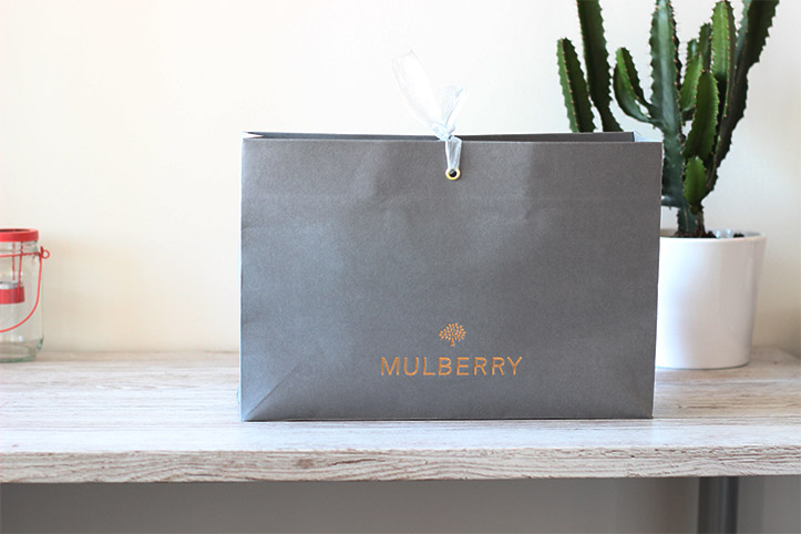 Mulberry lily medium black