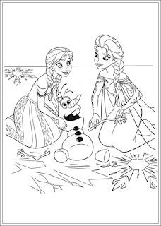 Malvorlagen Disney Die Eiskönigin
