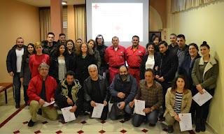 Τελετή απονομής πιστοποιητικών εκπαίδευσης – Σώμα Εθελοντών Σαμαρειτών, Διασωστών και Ναυαγοσωστών Ε.Ε.Σ. Κατερίνης