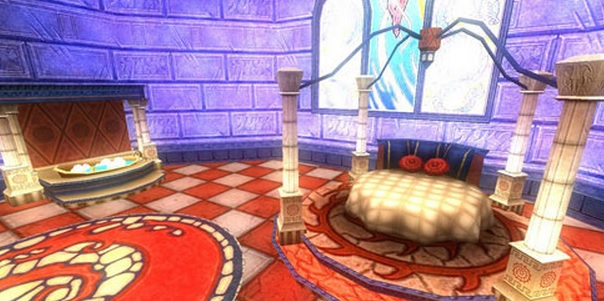As We Watch The Slide Show You See New World Furniture Dragonspyre,  Marleybone, Mooshu And Looks Like Wizard City? I Love The Round Bed, OMG A  Claw Footed ...