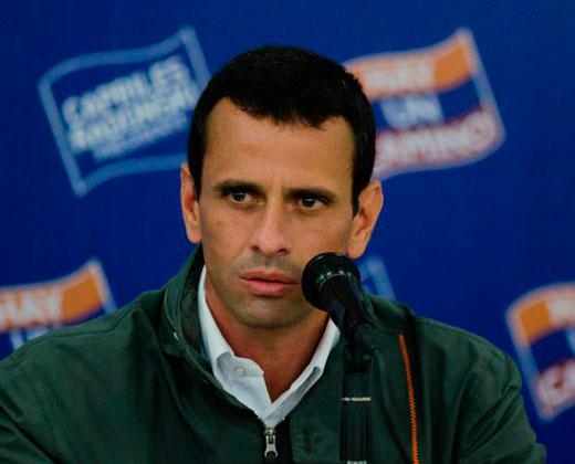 Capriles aseguró que revocatorio pudiera hacerse el 30 de octubre