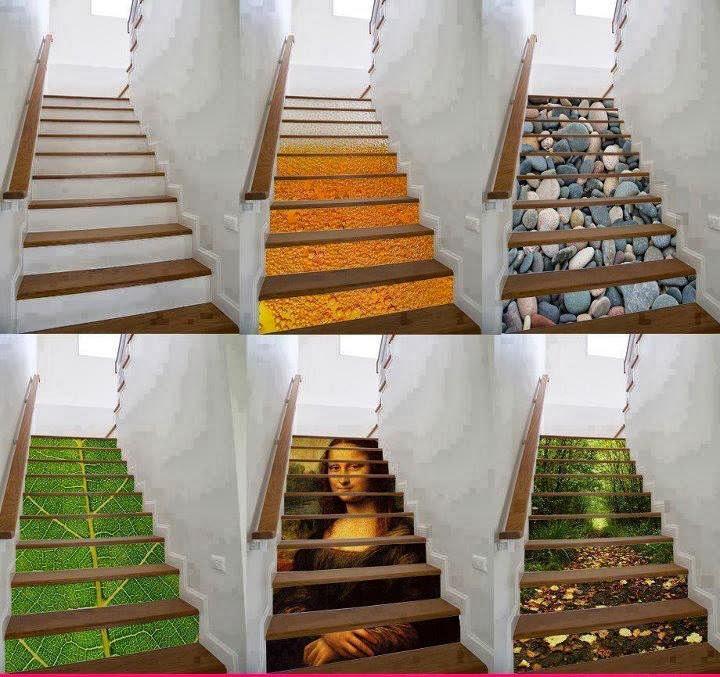 MENTŐÖTLET - kreáció, újrahasznosítás: lépcső