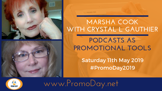 Promo Day 2019 Webinar with Marsha Cook and Crystal L. Gauthier