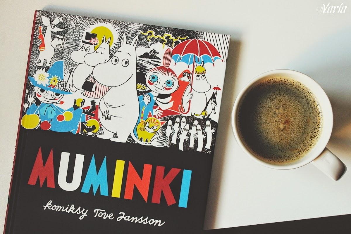 46c341805c8242 Komiksowa wersja Muminków to historie, tworzone bez powiązania z ich  książkowymi przygodami, powstałe na zamówienie brytyjskiej prasy i  drukowane w ...