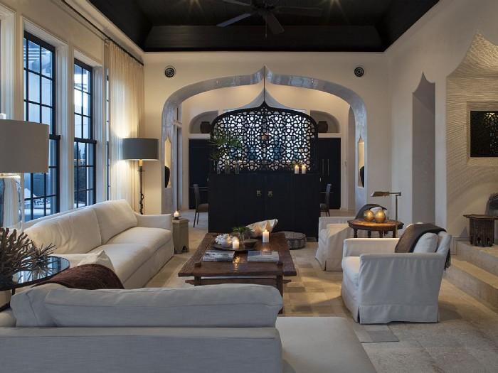Una casa de playa de estilo marroqu cocochicdeco - Casas marroquies ...