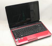 harga jual laptop bekas gaming core i5 toshiba l745 vga amd radeon