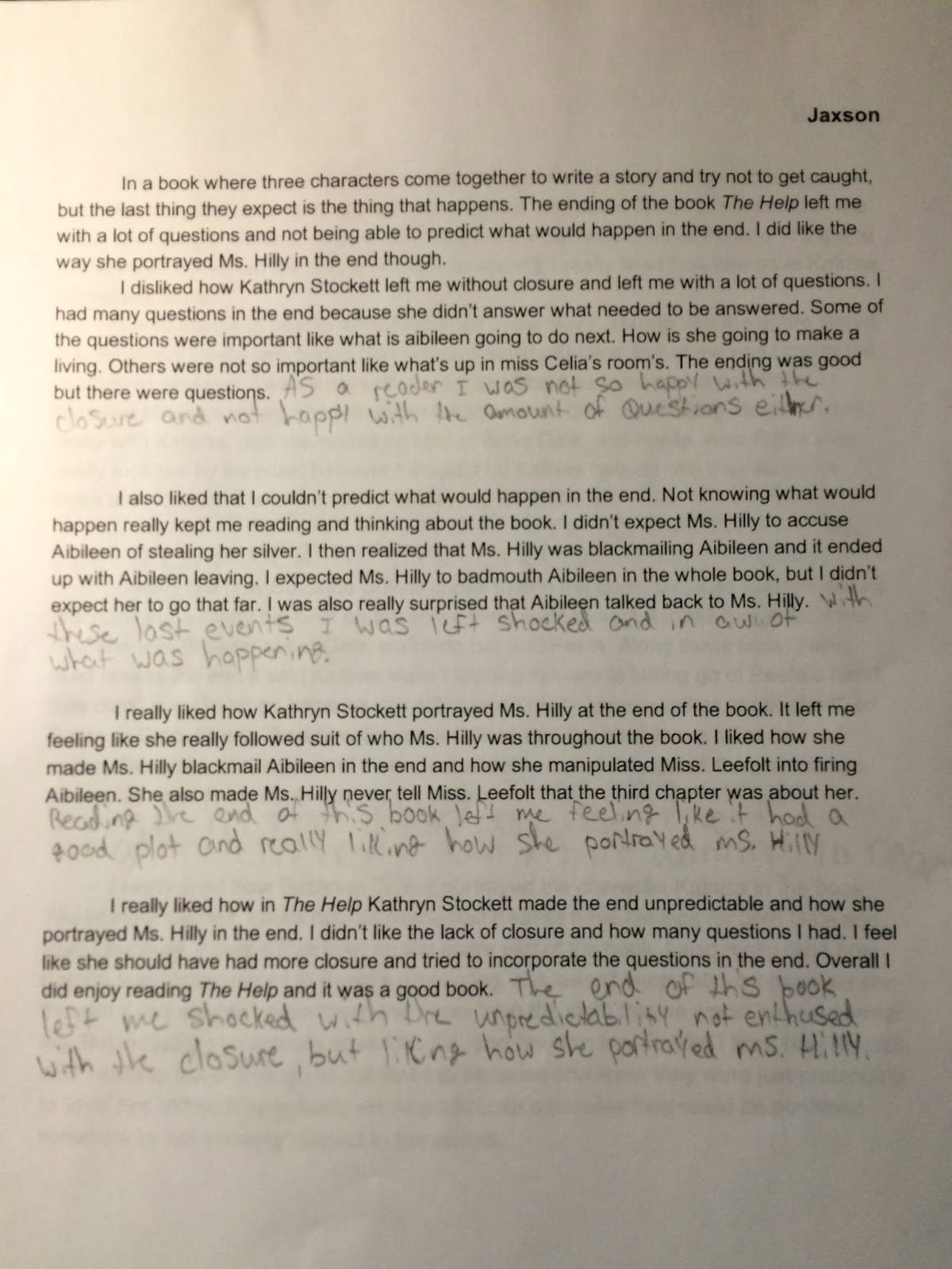 middle school teacher to literacy coach guided writing i then gave students the application time to add concluding sentences onto the end of their body paragraphs from their own literary essays